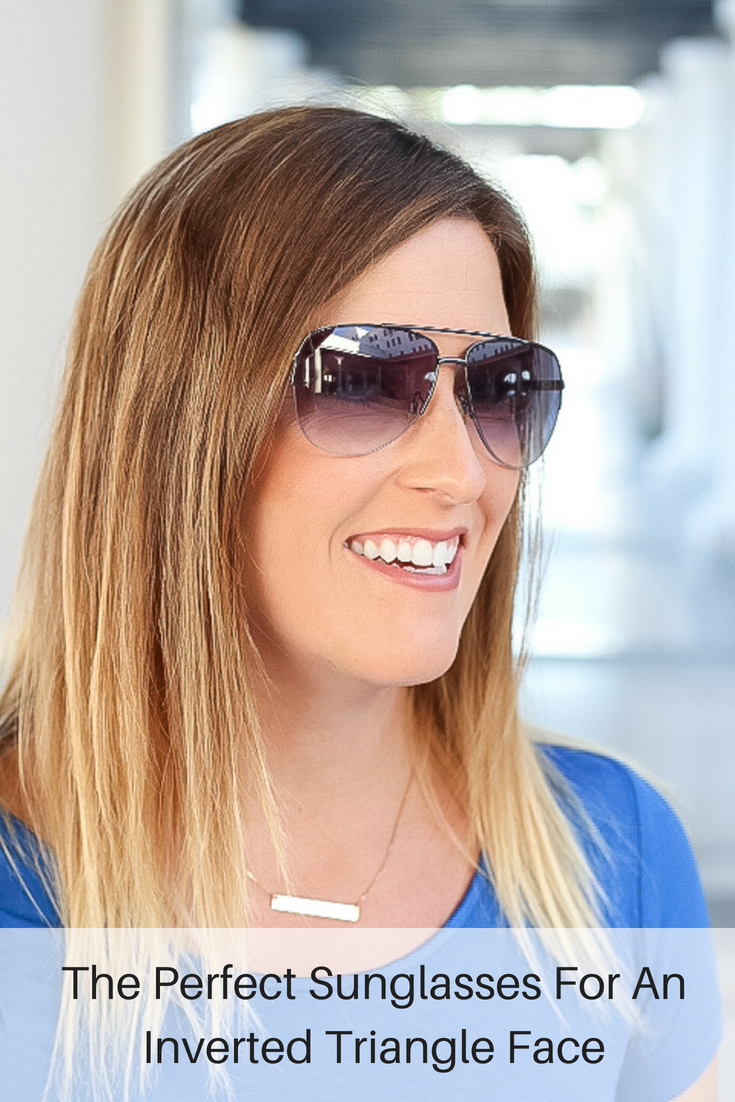 3 Perfect Sunglasses For An Inverted Triangle Face Shape featured by popular Los Angeles style blogger, The Fashionista Momma