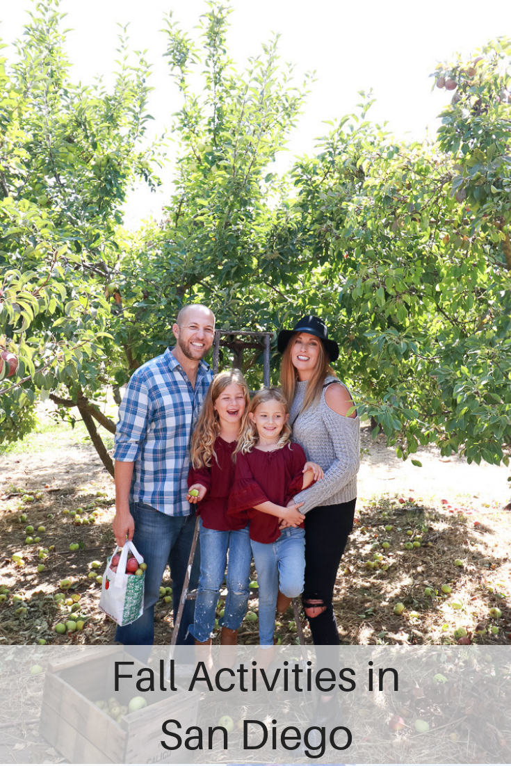 The Fashionista Momma shares her favorite fall activities in San Diego.
