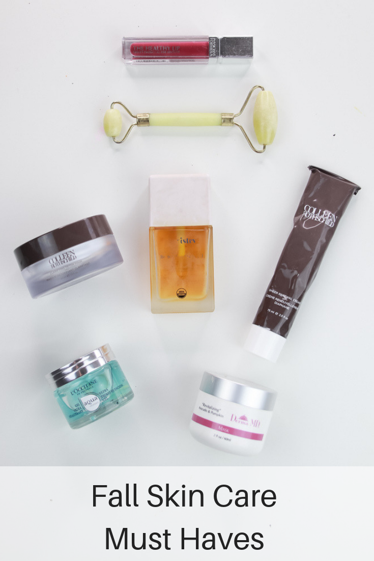 The Fashionista Momma shares all of her fall skin care must have products.