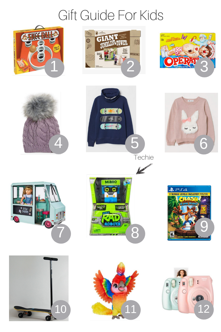 The Fashionista Momma shares her gift guides for the whole family with the perfect gift guide for kids.