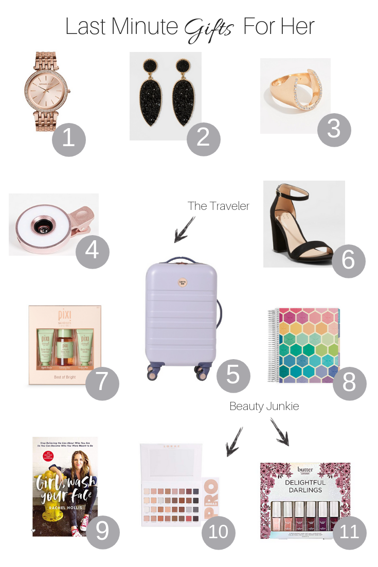 The Fashionista Momma shares her top picks for last minute gifts for the whole family.