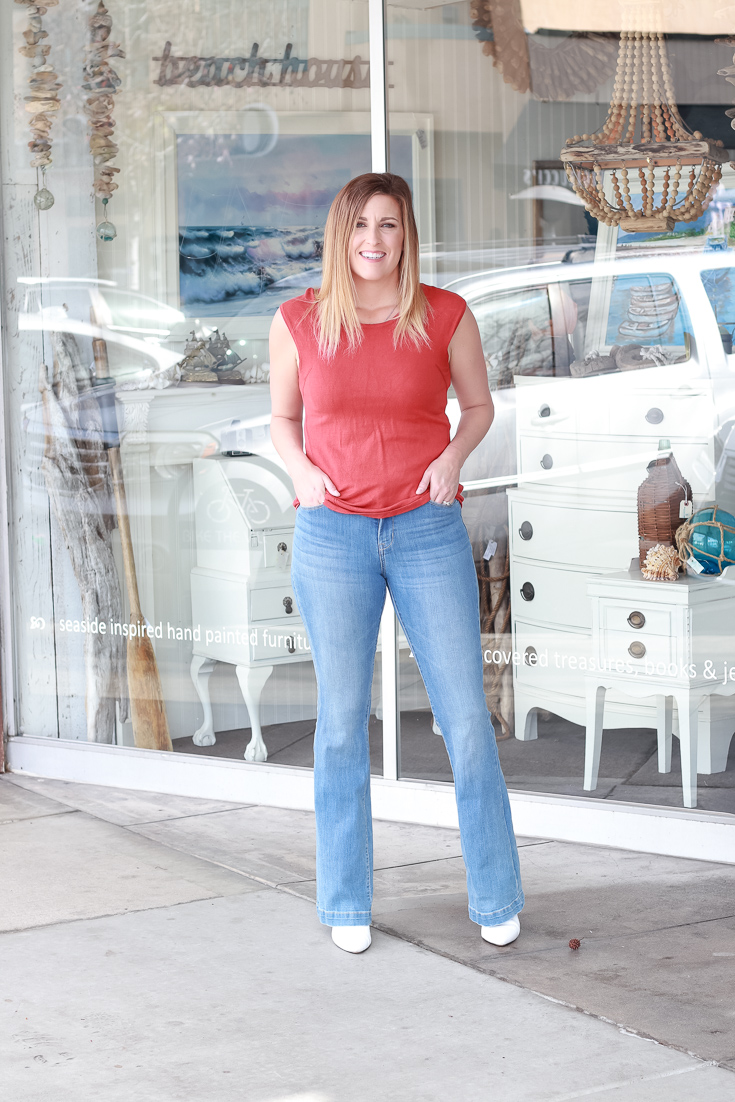 The Fashionista Momma shares the best denim trends for 2019.