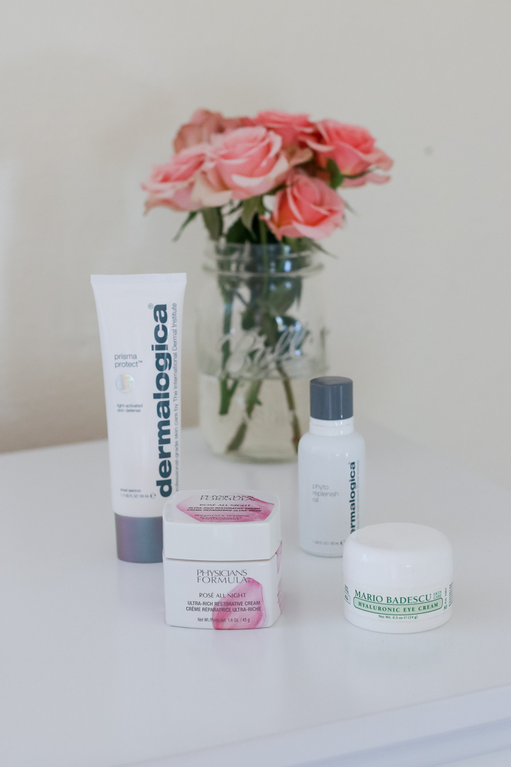 The Fashionista Momma shares her skin care faves.
