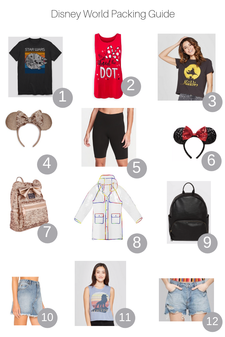 The Fashionista Momma shares her Disney World packing guide.