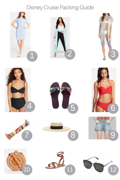 The Fashionista Momma shares the best Disney Cruise Packing Guide.