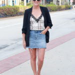 3 Ways To Wear A Denim Skirt