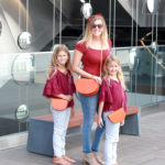 Mommy and Me Purses: Zenko's Orange Leather Shoulder Bag