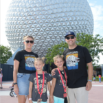 Popular US Travel Blogger, The Fashionista Momma, shares the best things to do in Epcot with kids; family at Epcot