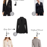 Top 5 Cute Fall Blazers for a Rectangular Body Shape