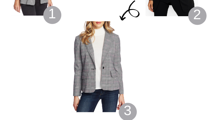 Top 5 Cute Fall Blazers for an Inverted Triangle Body Shape