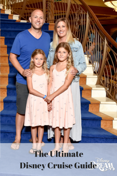 The Ultimate Disney Cruise Guide featured by Top US travel blog, The Fashionista Momma; family on Disney Dream