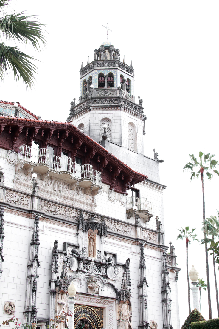The Ultimate San Diego To San Francisco Road Trip For The Holidays featured by Top Family Travel Blog, The Fashionista Momma; Hearst Castle