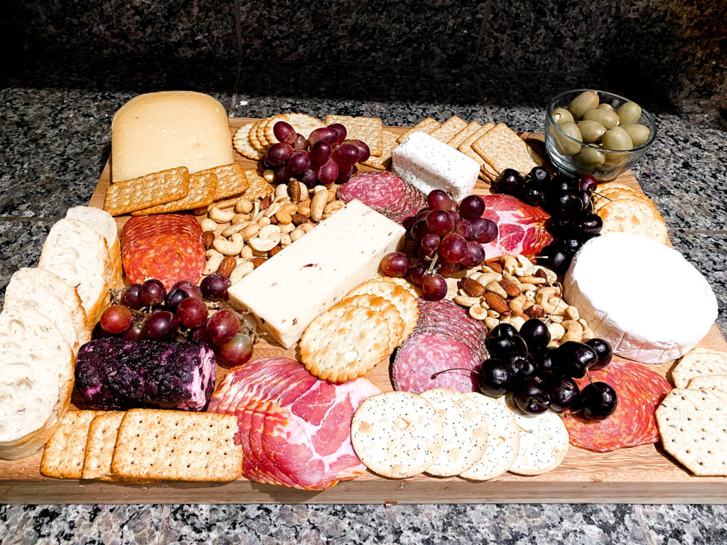 Family Friendly New Years Party featured by popular US Party Blog, The Fashionista Momma; Charcuterie board for party.