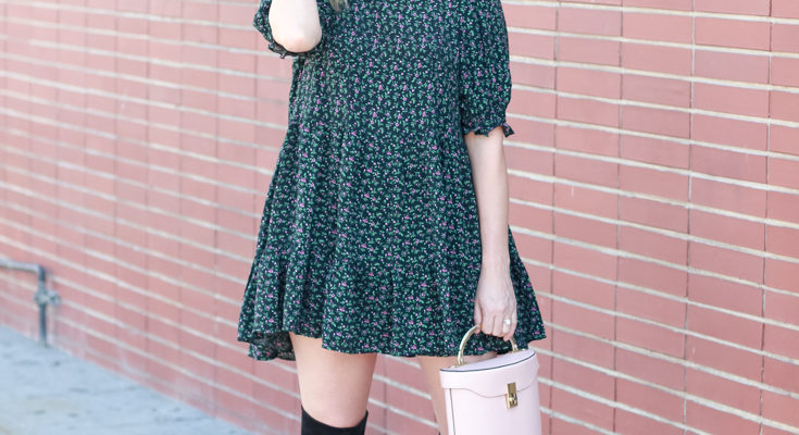Babydoll Dress With Boots