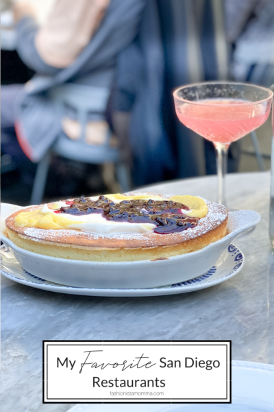 Must Try San Diego Restaurants featured by popular US Family Travel Blog, The Fashionista Momma; Dutch Baby Soufflé pancake