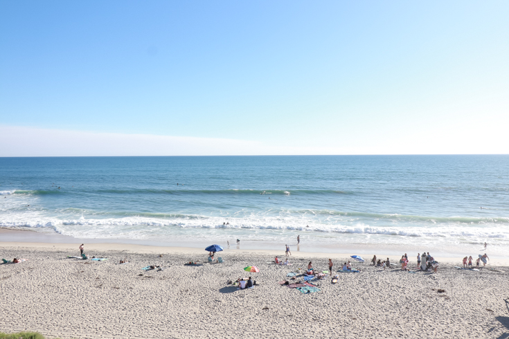 Travel Guide To Carlsbad California featured by popular US Family Travel Blogger, The Fashionista Momma; Carlsbad State Beach