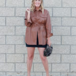 The Perfect Faux Leather Shirt