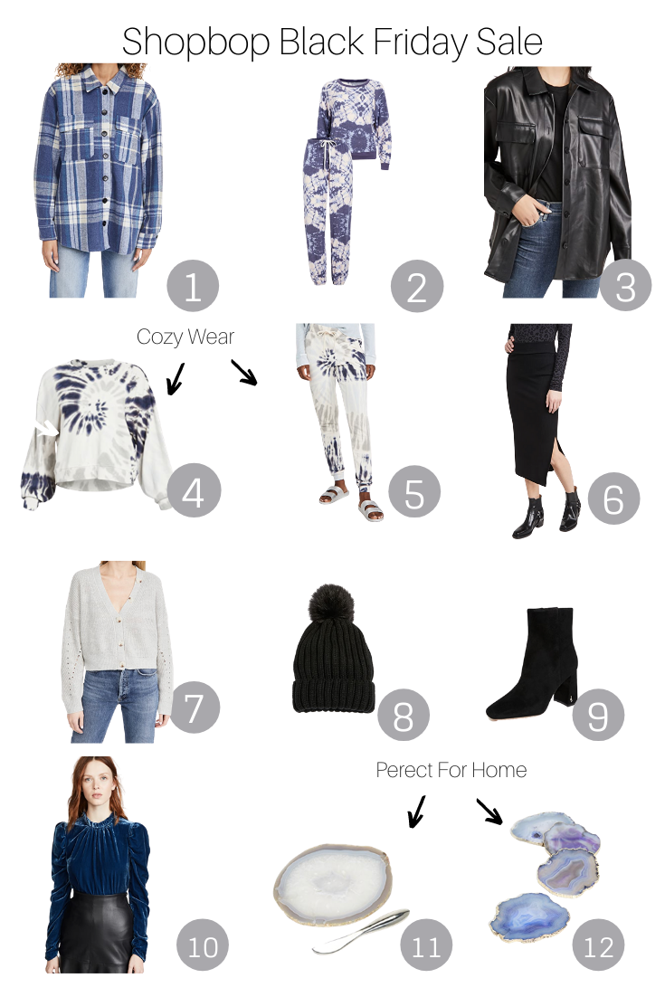 Shopbop Black Friday Sale featured by Popular US Style Blogger, The Fashionista Momma; Shopbop collage for Black Friday