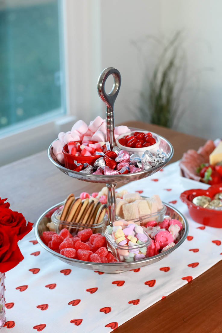 The Perfect Galentine's Day featured by Top US Party Blogger, Style And Wanderlust; Candy Platter