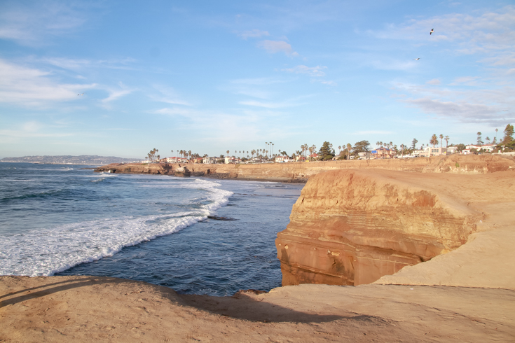 Best Things To Do In San Diego For Valentine's Day featured by popular US Travel Blogger, Style & Wanderlust; sunset cliffs