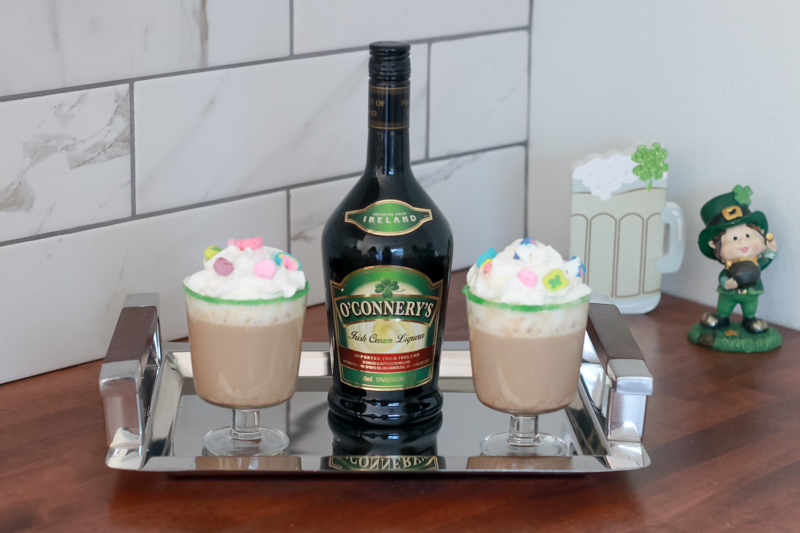 The Perfect Family St. Patrick's Day party featured by Style & Wanderlust, popular US Party Blogger; irish coffee