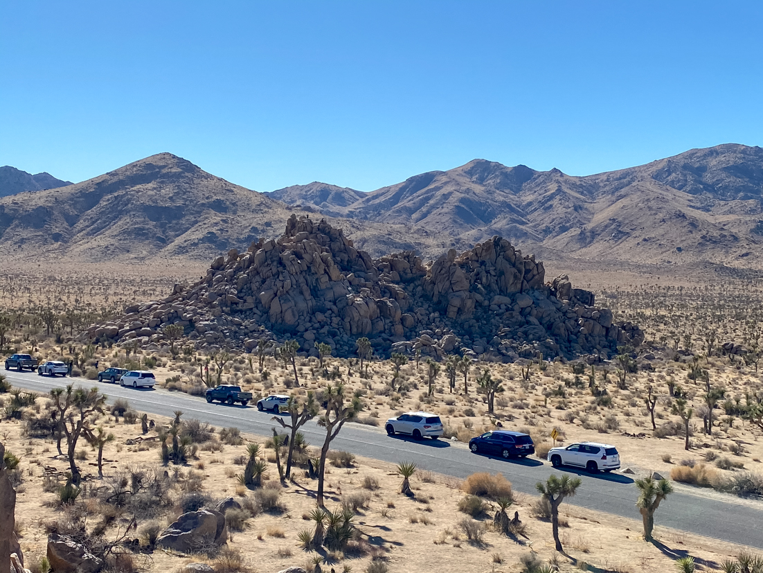 The Ultimate Day Trip To Joshua Tree National Park featured by popular US Travel Blogger, Style & Wanderlust; photo of Hidden Valley in Joshua Tree