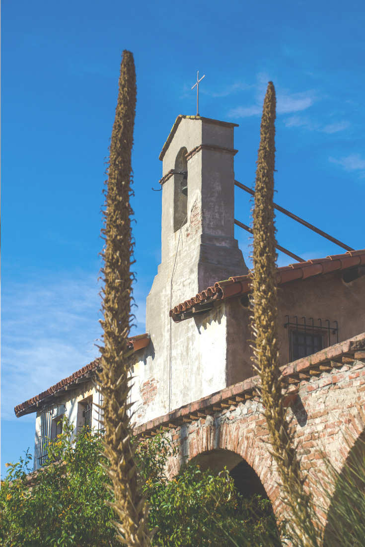 Local Love: 5 Best Things To Do In Orange County with kids this spring featured by popular US Travel Blogger, Style & Wanderlust; photo of Mission San Juan Capistrano