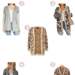 5 Leopard Print Cardigans for the Pear Shaped Body