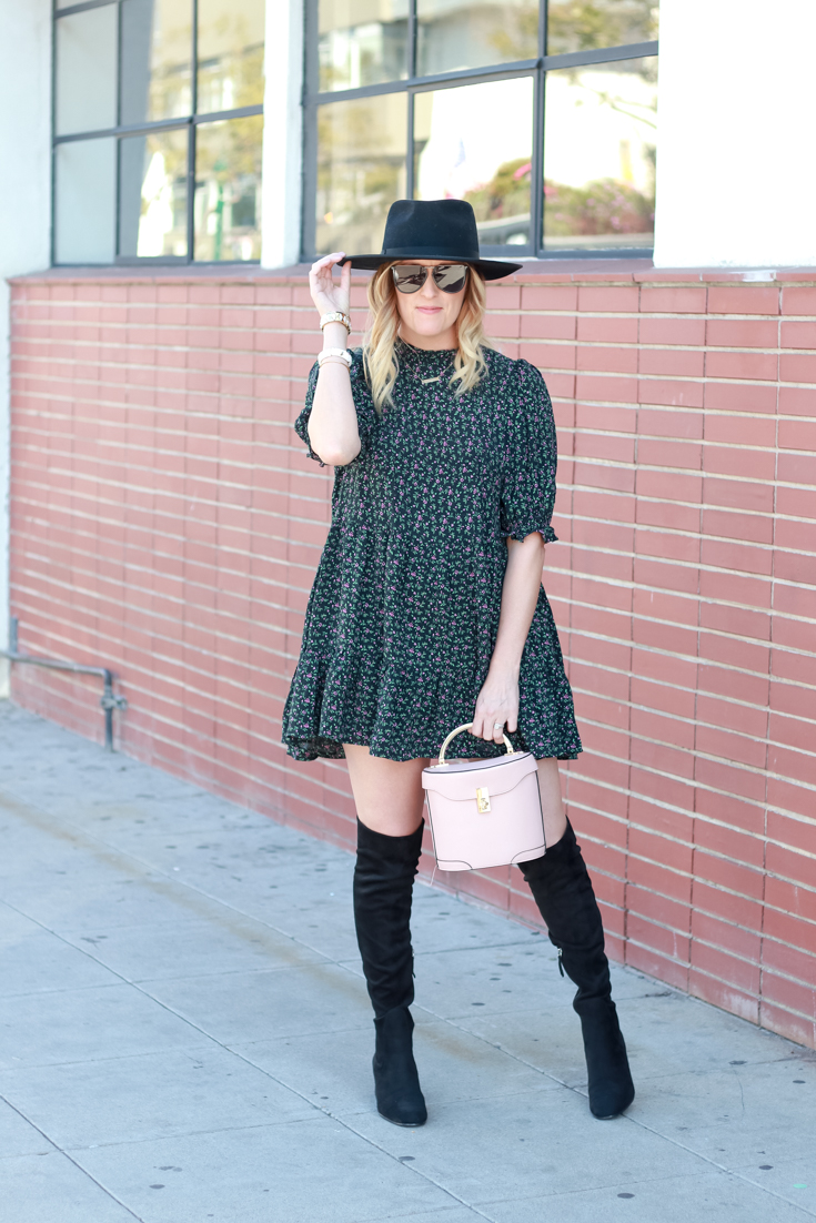 7 Cute Spring Dresses For Women To Wear This Season featured by popular US Style Blogger, Style & Wanderlust; collage of dresses for spring.