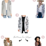 The Best Leopard Print Cardigan For The Hourglass Body Shape
