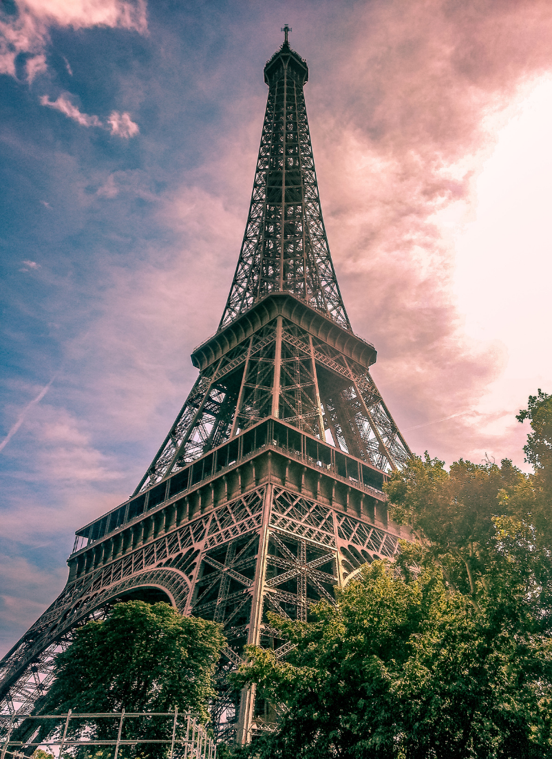 Top 5 Best Places to Travel After the Pandemic is Over featured by Top US Travel Blogger, Style And Wanderlust.  Eiffel Tower Paris.