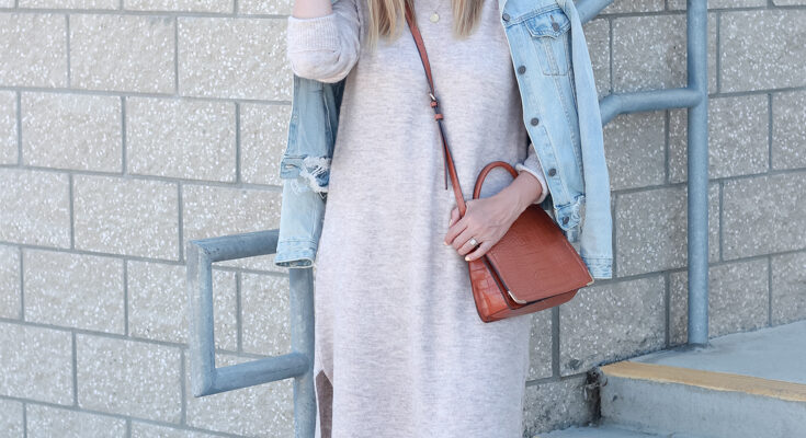 5 Tips To Style Your Favorite Spring Sweater Dress