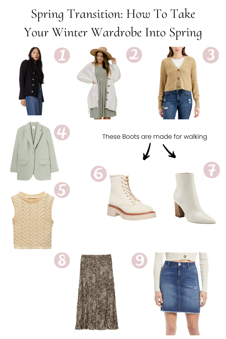 Spring Transition: How to Take your Winter Wardrobe into Spring featured by popular US Style Blogger, Style And Wanderlust.
