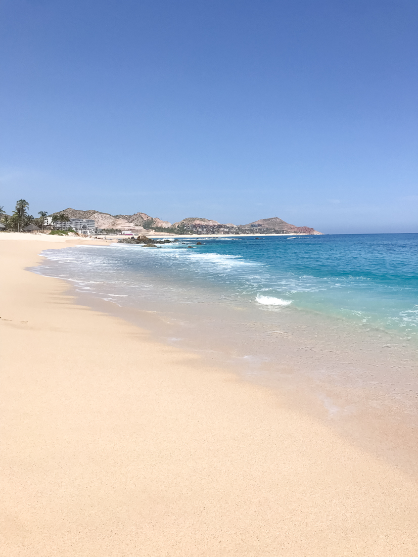 Top 5 Best Places to Travel After the Pandemic is Over featured by Top US Travel Blogger, Style And Wanderlust.  Cabo San Lucas beach