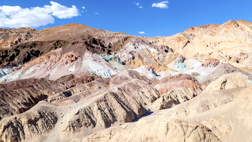 Popular US Travel Blogger, Style And Wanderlust, shares 5 Must See Places In Death Valley National Park; Artist Palette