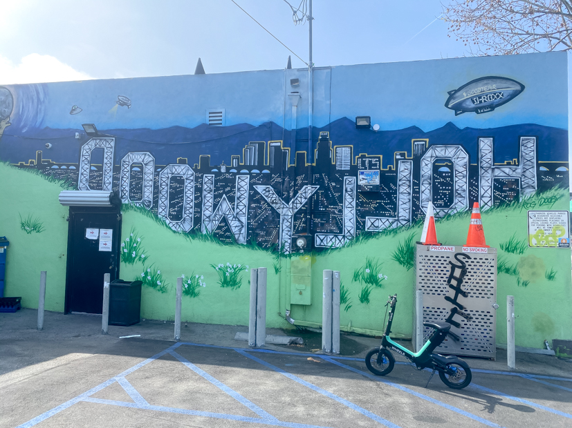 Top US Travel Blogger, Style And Wanderlust shares Must See Murals on Melrose in West Hollywood; Hollywood Mural