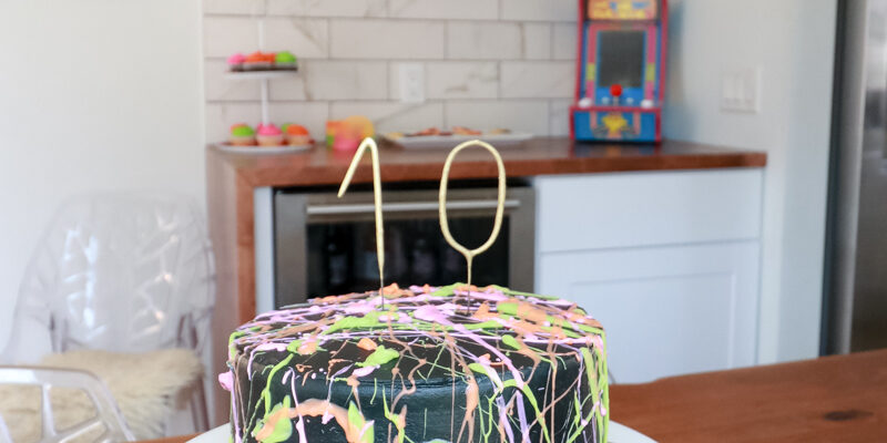 An Epic 80's Birthday Party For Kids