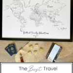Top US Travel Blogger, Style And Wanderlust shares The Best Travel Memory Keepsakes.
